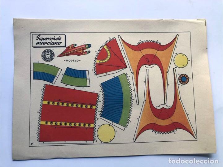 Coleccionismo Recortables: COLECCION - AERONAVES / SERIE COMPLETA - 8 LAMINAS / BRUGUERA AÑOS 50 / MUNDO INFANTIL - Foto 9 - 233003610