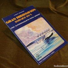 Coleccionismo Recortables: GRAN HIDROAVIÓN DORNIER DO-X,UNA SUPERMAQUETA PARA ARMAR.EDAF 1985.. Lote 236705270