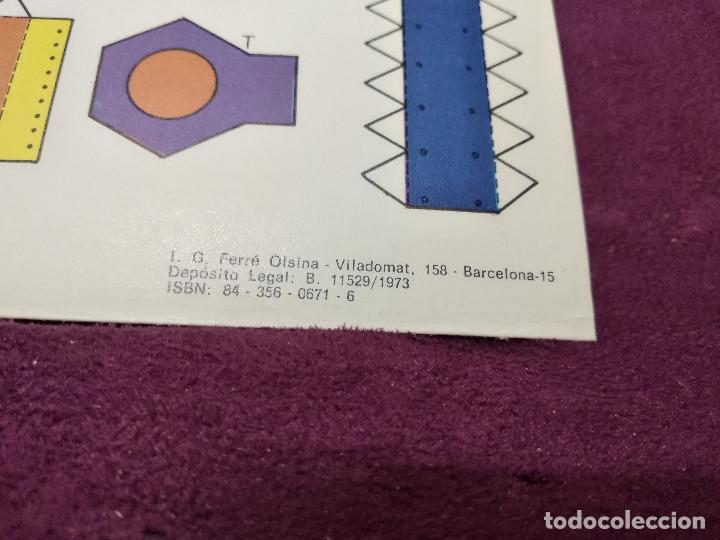 Coleccionismo Recortables: Pliego con recortables de transporte, Sputnik, Serie Espacial, Ed. Roma, 1973, unos 70 x 20 cms. - Foto 10 - 242059005