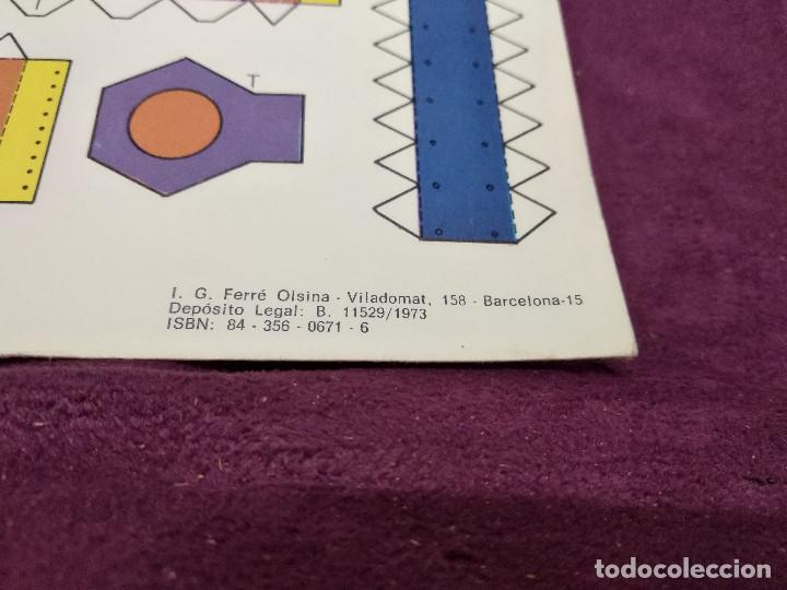 Coleccionismo Recortables: Pliego con recortables de transporte, Sputnik, Serie Espacial, Ed. Roma, 1973, unos 70 x 20 cms. - Foto 9 - 242059775
