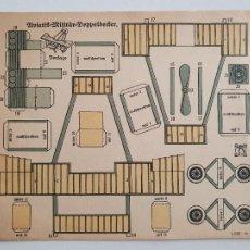 Coleccionismo Recortables: RECORTABLE AVIÓN - ALEMANIA - 17,8 X 14,7. Lote 242348975