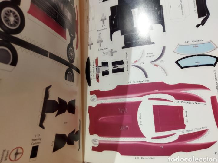 Coleccionismo Recortables: libro con 8 Recortables de clásicos coches americano Años 80. - Foto 4 - 242425220