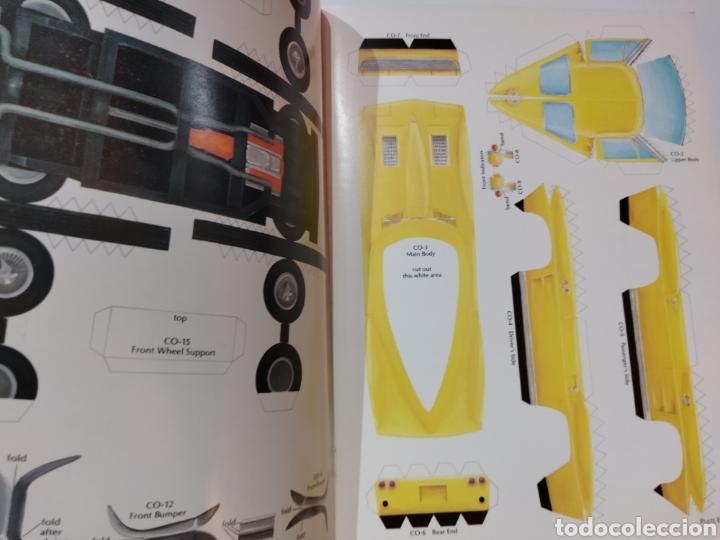 Coleccionismo Recortables: libro con 8 Recortables de clásicos coches americano Años 80. - Foto 6 - 242425220