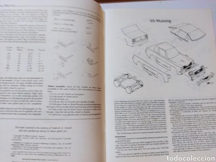 Coleccionismo Recortables: libro con 8 Recortables de clásicos coches americano Años 80. - Foto 7 - 242425220