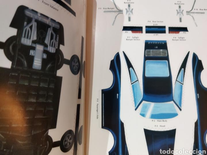 Coleccionismo Recortables: libro con 8 Recortables de clásicos coches americano Años 80. - Foto 10 - 242425220