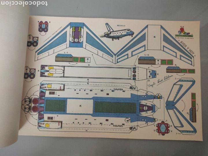 Coleccionismo Recortables: PACK 8X ANTIGUOS RECORTABLES EDICIONES CON-BEL TRENES Y AUTOBUSES 40X25cm - Foto 5 - 246492320