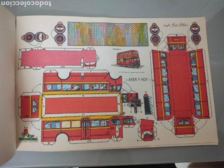 Coleccionismo Recortables: PACK 8X ANTIGUOS RECORTABLES EDICIONES CON-BEL TRENES Y AUTOBUSES 40X25cm - Foto 8 - 246492320