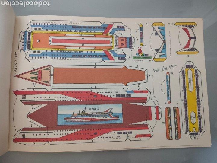 Coleccionismo Recortables: PACK 8X ANTIGUOS RECORTABLES EDICIONES CON-BEL TRENES Y AUTOBUSES 40X25cm - Foto 4 - 246492320