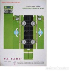 Coleccionismo Recortables: RECORTABLE TROQUELADO PA-CARS CAMIÓN TRANSPORTES INTERNACIONALES TAURO. Lote 250219305