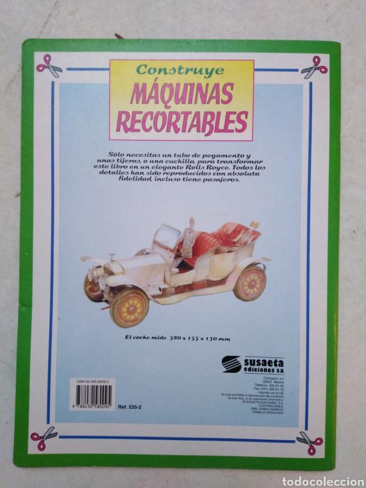 Coleccionismo Recortables: Construye Máquinas Recortables, Rolls Royce - Foto 2 - 256063200