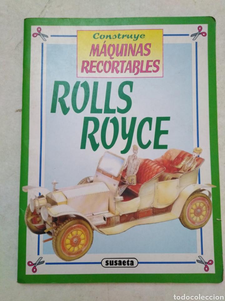CONSTRUYE MÁQUINAS RECORTABLES, ROLLS ROYCE (Coleccionismo - Recortables - Transportes)