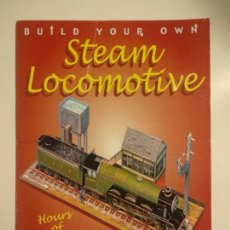 Coleccionismo Recortables: BUILD YOUR OWN STEAM LOCOMOTIVE. Lote 261873450