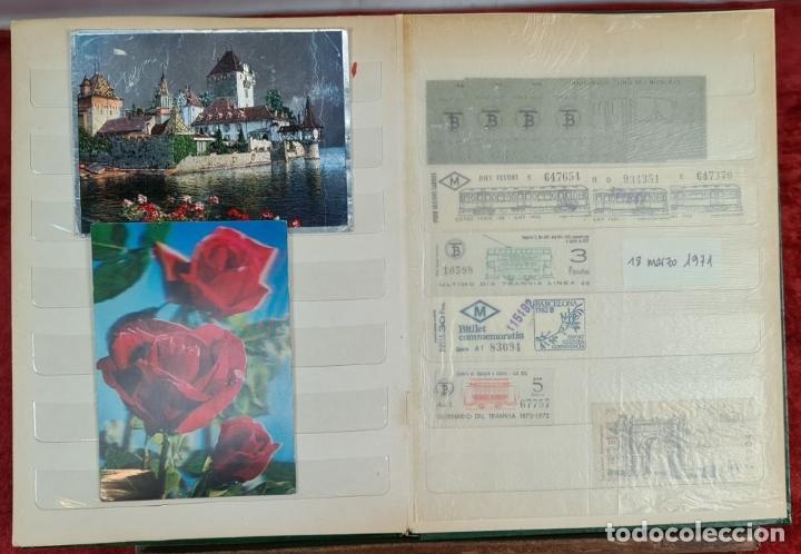 Coleccionismo Recortables: COLECCION DE 126 TITULOS DE TRANSPORTE. CAPICUA. VARIAS POSTALES. SIGLO XX. - Foto 2 - 266093223