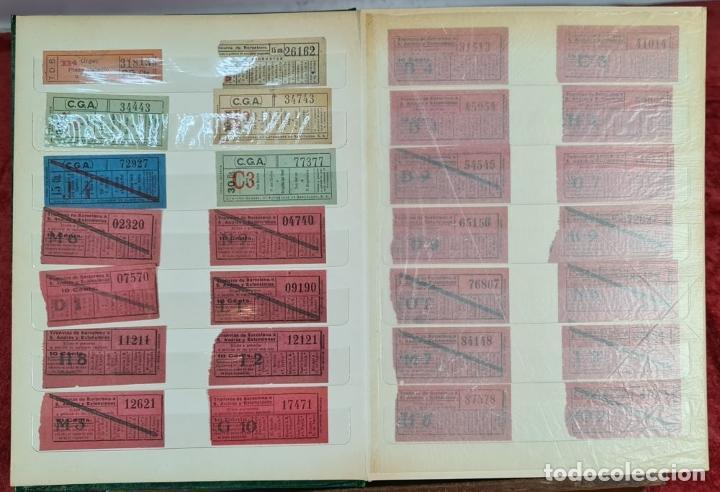 Coleccionismo Recortables: COLECCION DE 126 TITULOS DE TRANSPORTE. CAPICUA. VARIAS POSTALES. SIGLO XX. - Foto 3 - 266093223