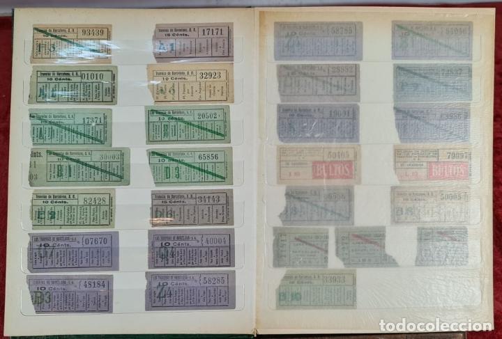 Coleccionismo Recortables: COLECCION DE 126 TITULOS DE TRANSPORTE. CAPICUA. VARIAS POSTALES. SIGLO XX. - Foto 4 - 266093223