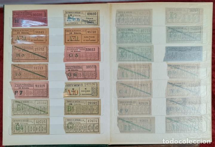 Coleccionismo Recortables: COLECCION DE 126 TITULOS DE TRANSPORTE. CAPICUA. VARIAS POSTALES. SIGLO XX. - Foto 5 - 266093223