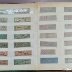 Coleccionismo Recortables: COLECCION DE 126 TITULOS DE TRANSPORTE. CAPICUA. VARIAS POSTALES. SIGLO XX.. Lote 266093223