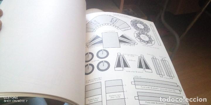 Coleccionismo Recortables: 2 revistas en ingles de recortables de grandes trenes y aviones americanos - Foto 2 - 266551353