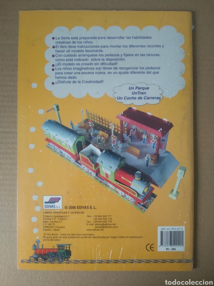 Coleccionismo Recortables: Recortable Mi Tren: Haga Un Modelo (Edivas, 2006). Precintado. 54 piezas. Gran formato. - Foto 2 - 270524503