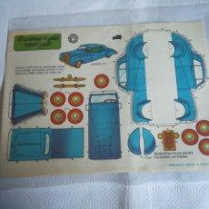 Coleccionismo Recortables: RECORTABLE 1959. Lote 278826363