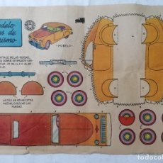 Coleccionismo Recortables: RECORTABLE BRUGUERA, MODELO J PLA, MEDIDAS 29 X 20 CM, MODELO INGLES DE TURISMO. Lote 286989503