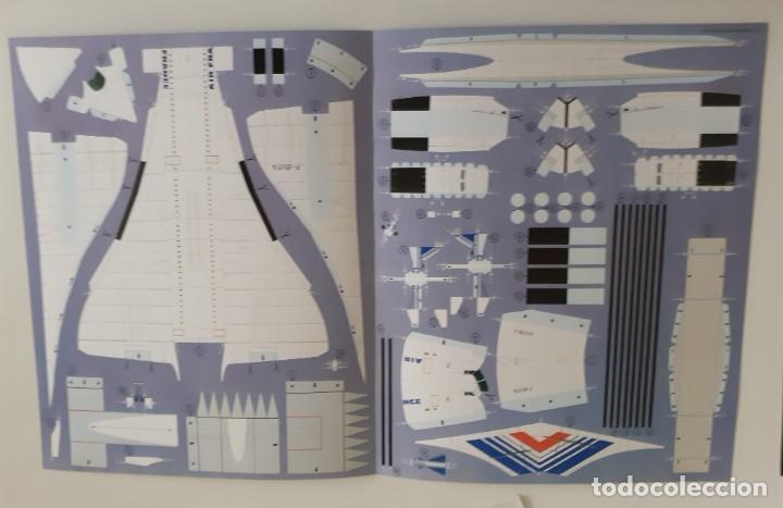 Coleccionismo Recortables: MODELOS DE AVIONES FAMOSOS . TIME-LIFE 3 recortables - Foto 8 - 288606283