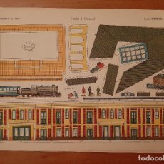 Coleccionismo Recortables: RECORTABLE LA TIJERA : ESTACIÓN FERROCARRIL - SERIE IMPERIO Nº 11. Lote 293168158
