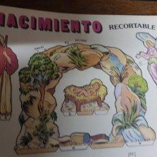 Coleccionismo Recortables: NACIMIENTO. Lote 296880408