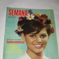 Coleccionismo de Revista Blanco y Negro: SEMANA Nº 1419 DE 29/04/67. CLAUDIA CARDINALE EN PORTADA E INTERIOR. MARISOL REGRESÓ DE AFRICA. Lote 24466023
