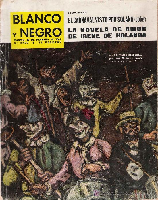 REVISTA BLANCO Y NEGRO * SOLANA * OPUS DEI * CRUCERO MÉNDEZ NÚÑEZ * (Coleccionismo - Revistas y Periódicos Modernos (a partir de 1.940) - Blanco y Negro)