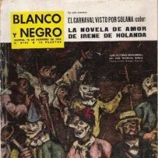 Coleccionismo de Revista Blanco y Negro: REVISTA BLANCO Y NEGRO * SOLANA * OPUS DEI * CRUCERO MÉNDEZ NÚÑEZ *. Lote 23354411