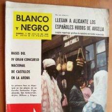 Coleccionismo de Revista Blanco y Negro: BLANCO Y NEGRO Nº 2618 - 7 JULIO 1962 - PRESIDENTE FILIPINAS EN ESPAÑA - EXODO DE ARGELIA - COSSIO. Lote 17294267