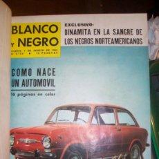 Coleccionismo de Revista Blanco y Negro: REVISTA BLANCO Y NEGRO ENCUADERNADA ( DEL 1/ 08 / 1964 AL 26 /9 / 1964 ) UNAS 1000 PAGINAS. Lote 19887283