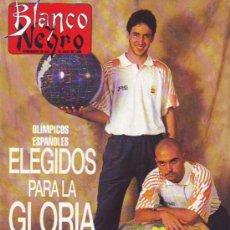 Coleccionismo de Revista Blanco y Negro: RAÚL, IVÁN DE LA PEÑA, GLORIA ESTEFAN. Lote 26628339