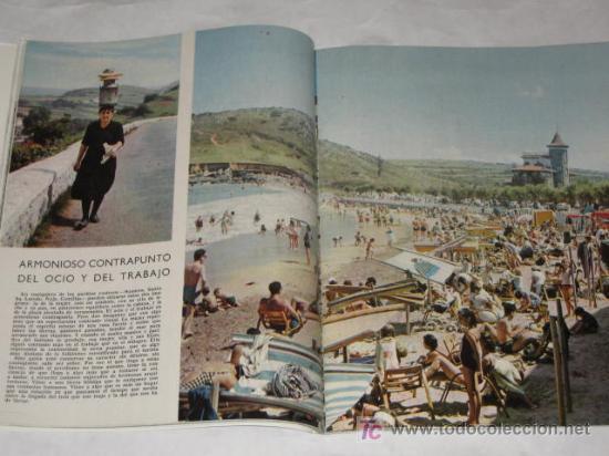 Coleccionismo de Revista Blanco y Negro: Blanco y Negro nº 2778 de 31/07/1965. La costa de Santander, por José Hierro. Brigitte Bardot. - Foto 3 - 24444231