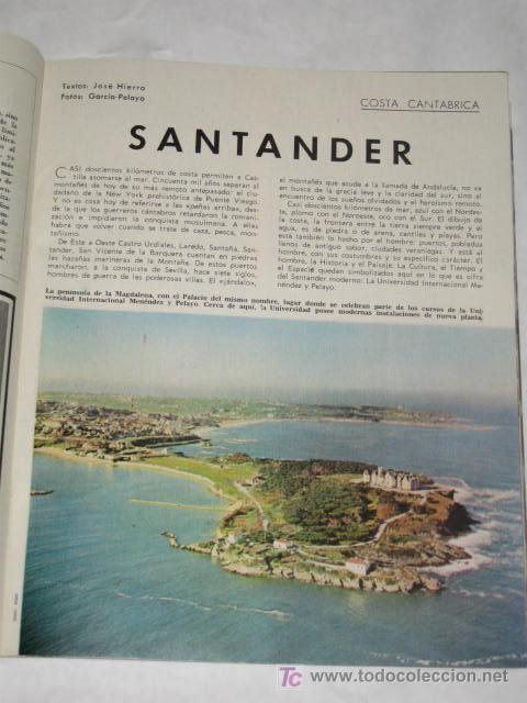 Coleccionismo de Revista Blanco y Negro: Blanco y Negro nº 2778 de 31/07/1965. La costa de Santander, por José Hierro. Brigitte Bardot. - Foto 2 - 24444231