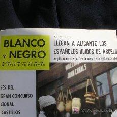 Coleccionismo de Revista Blanco y Negro: REVISTA BLANCO Y NEGRO TOMO CON LOS NUMEROS 2618 (7-7-1962) AL 2625 (25-8-1962). Lote 26747912
