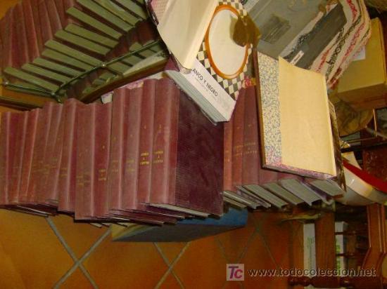 37 TOMOS CORRELATIVOS REVISTA BLANCO Y NEGRO ENCUADERNADA DE 8 JUN 57 A 2416 OCT 1962- 279 NUMEROS + (Coleccionismo - Revistas y Periódicos Modernos (a partir de 1.940) - Blanco y Negro)