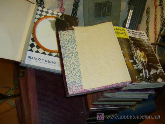 Coleccionismo de Revista Blanco y Negro: 37 TOMOS CORRELATIVOS REVISTA BLANCO Y NEGRO ENCUADERNADA DE 8 JUN 57 A 2416 OCT 1962- 279 NUMEROS + - Foto 3 - 15649645
