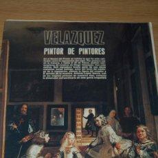 Coleccionismo de Revista Blanco y Negro: VELÁZQUEZ, PINTOR DE PINTORES, SEPARATA DE BLANCO Y NEGRO. Lote 19430993