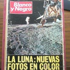 Coleccionismo de Revista Blanco y Negro: REVISTA BLANCO Y NEGRO .PRIMERAS FOTOS DE LA LUNA EN 1969.REVISTA HISTÓRICA. Lote 19312758