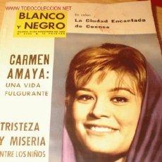 Coleccionismo de Revista Blanco y Negro: REVISTA - BLANCO Y NEGRO - Nº 2690 NOVIEMBRE 1963. EN PORTADA MAITE BLASCO.. Lote 32656166