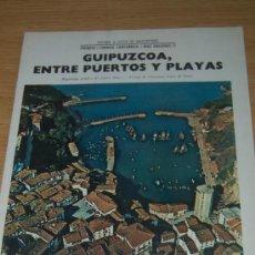Coleccionismo de Revista Blanco y Negro: GUIPUZCOA, ENTRE PUERTOS Y PLAYAS. PRECIOSO REPORTAJE GRÁFICO DE 1968. Lote 26445928