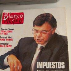 Coleccionismo de Revista Blanco y Negro: LUIS COBOS, SILVIA MARSÓ, BROOKE SHIELDS, POLIDÍAZ, JOHN WAYNE, NBA, MILES DAVIS. Lote 20666605