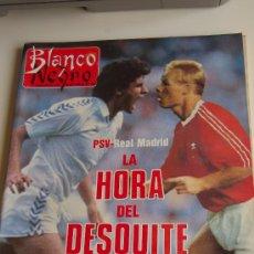 Coleccionismo de Revista Blanco y Negro: RONALD KOEMAN Y EL PSV, MICHELLE PFEIFFER, BJORN BORG, BURT LANCASTER. Lote 26786246