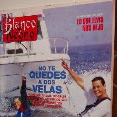 Coleccionismo de Revista Blanco y Negro: MIRIAM REYES, BEATRICE DALLE, A 15 AÑOS DE LA MUERTE DE ELVIS. Lote 20495165