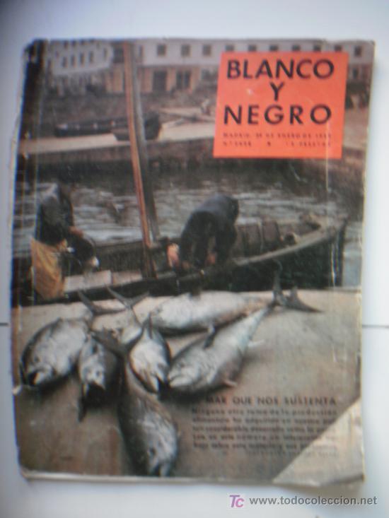 BLANCO Y NEGRO - ENERO 1959 - Nº2438 (Coleccionismo - Revistas y Periódicos Modernos (a partir de 1.940) - Blanco y Negro)