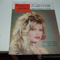 Coleccionismo de Revista Blanco y Negro: BRIGITTE BARDOT: REPORTAJE DE 1960. Lote 21008517