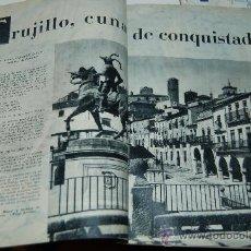 Coleccionismo de Revista Blanco y Negro: TRUJILLO, CUNA DE CONQUISTADORES. Lote 20133295