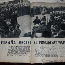 Collectionnisme de Magazine Blanco y Negro: IKE EN ESPAÑA: GRAN REPORTAJE GRÁFICO DE 1959. Lote 26314434